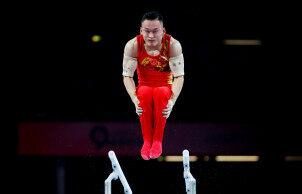 2019体操世锦赛:肖若腾冲金失败跌出前三 纳戈尔内获得金牌
