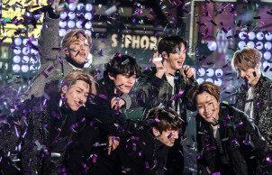 """BTS担任""""纽约摇滚跨年夜""""表演嘉宾 连续两年在美国跨年演唱会上表演"""
