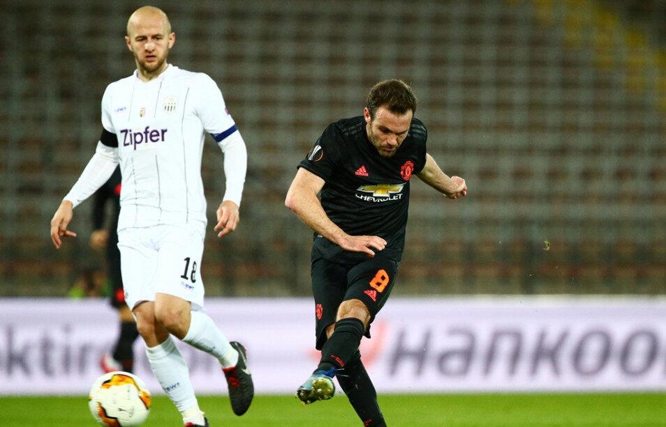 欧联:曼联5-0客胜林茨占先机