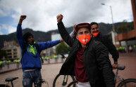 新冠疫情期间,拉美爆发快递员大规模示威游行