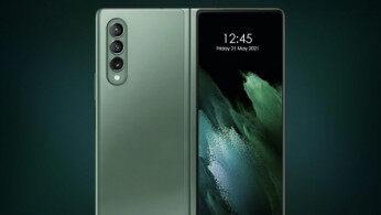 或下月登场!三星Galaxy Z Fold 3通过认证:首发屏下摄像头