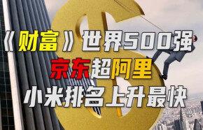 《财富》世界500强:互联网企业京东超阿里,小米排名上升最快